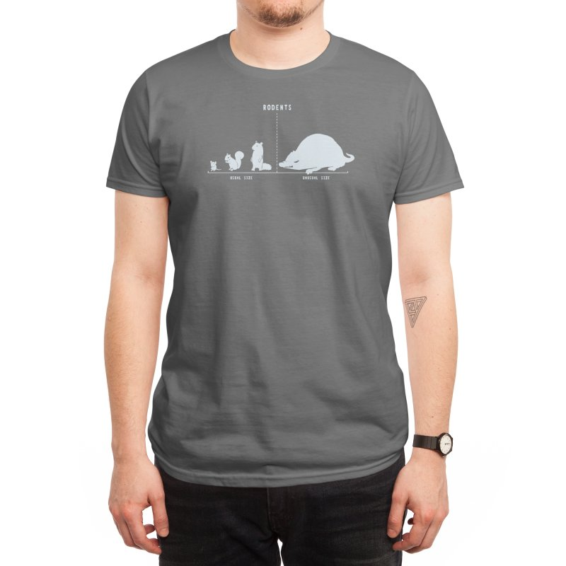 Rodents by Size Men's T-Shirt by Threadless Artist Shop