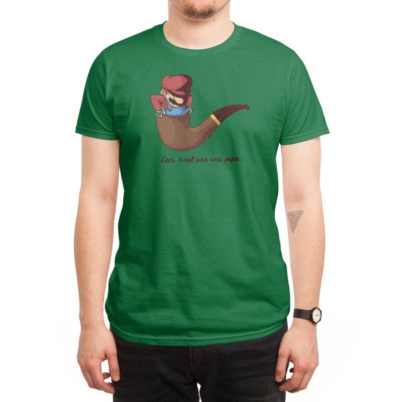 Not a Pipe Men's T-Shirt by Threadless Artist Shop