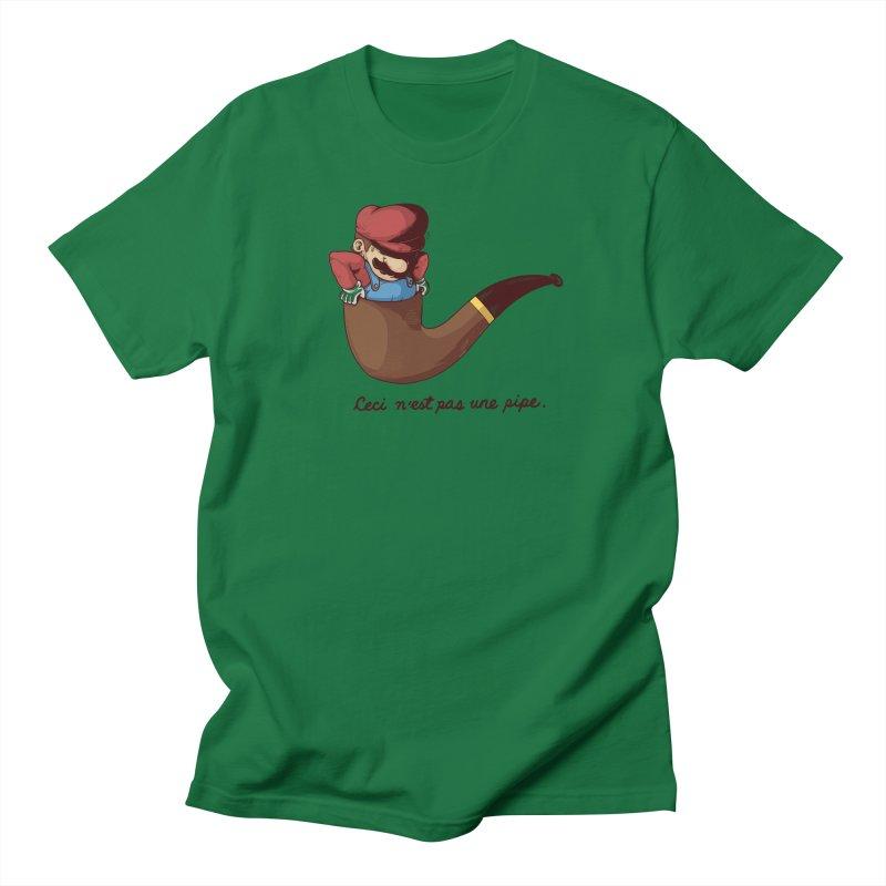 Not a Pipe Women's T-Shirt by Threadless Artist Shop