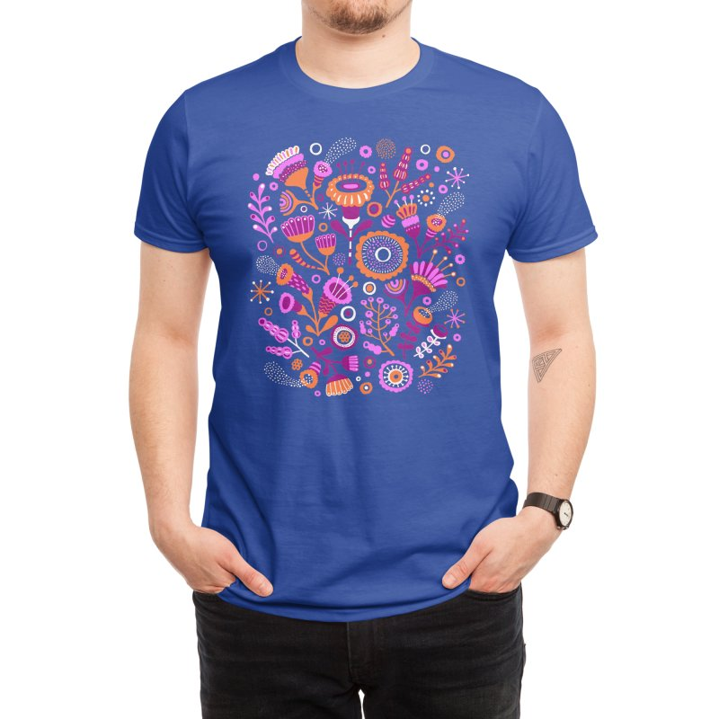Magic Flowers Men's T-Shirt by Threadless Artist Shop