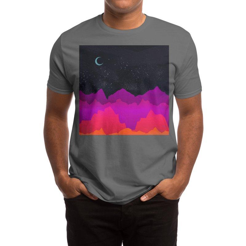 Serene Mountain Scene Men's T-Shirt by Threadless Artist Shop