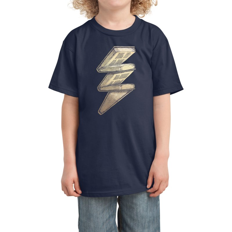Knowledge is Power! Kids T-Shirt by Threadless Artist Shop