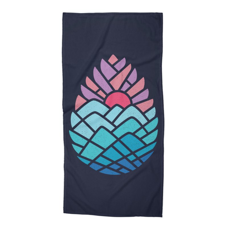 Alpine Accessories Beach Towel by Threadless Artist Shop