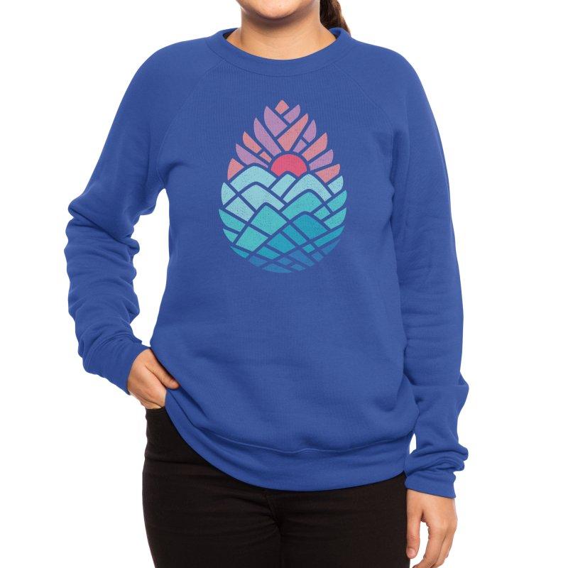 Alpine Women's Sweatshirt by Threadless Artist Shop