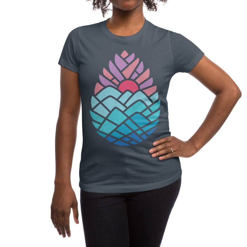 Alpine Women's T-Shirt by Threadless Artist Shop