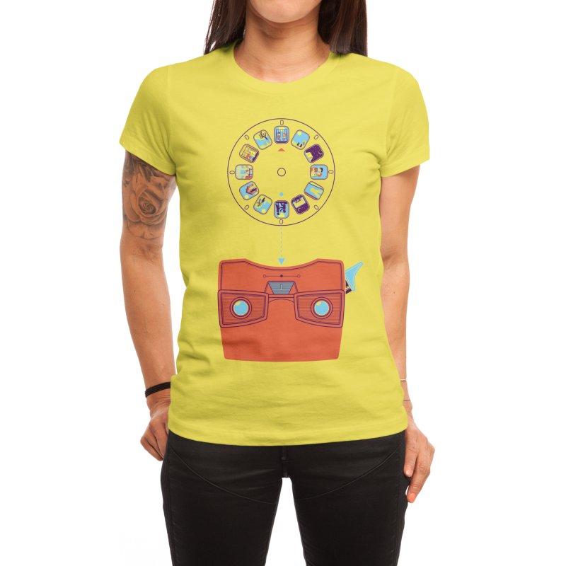 View Master Women's T-Shirt by Threadless Artist Shop