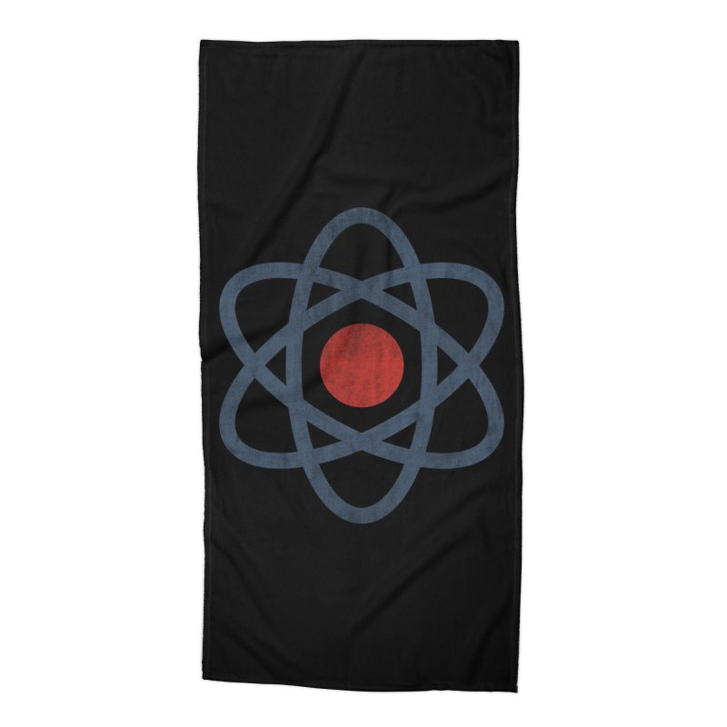 Springfield Isotopes (Black Variant) Accessories Beach Towel by Threadless Artist Shop