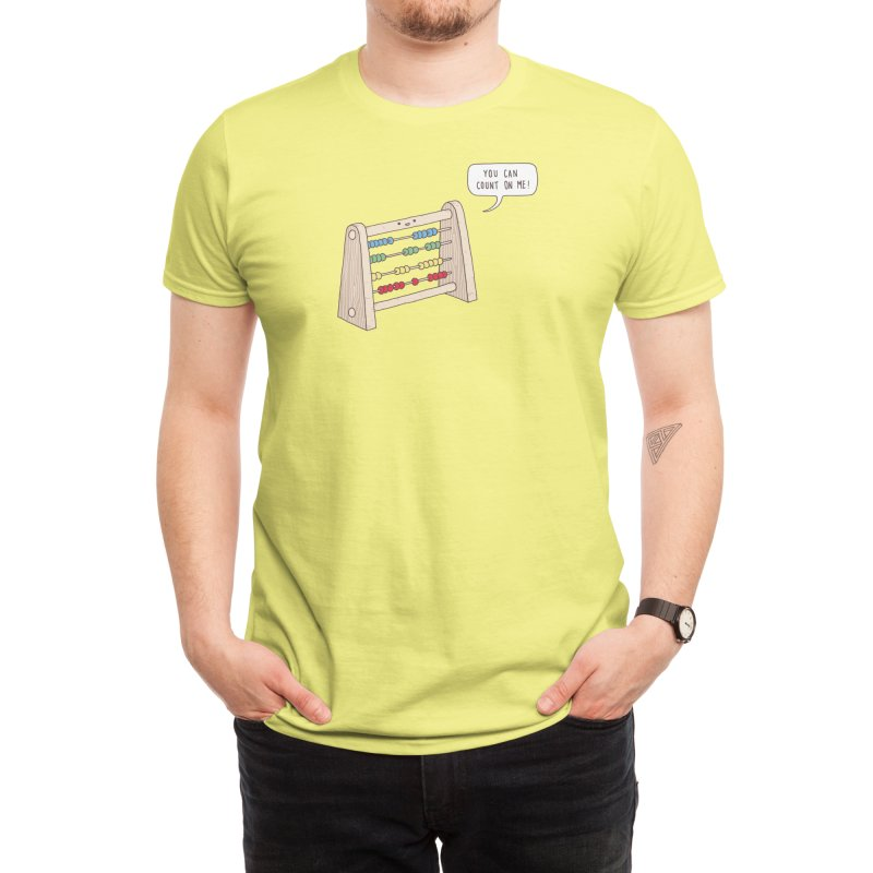 The Ever Reliable Abacus Men's T-Shirt by Threadless Artist Shop