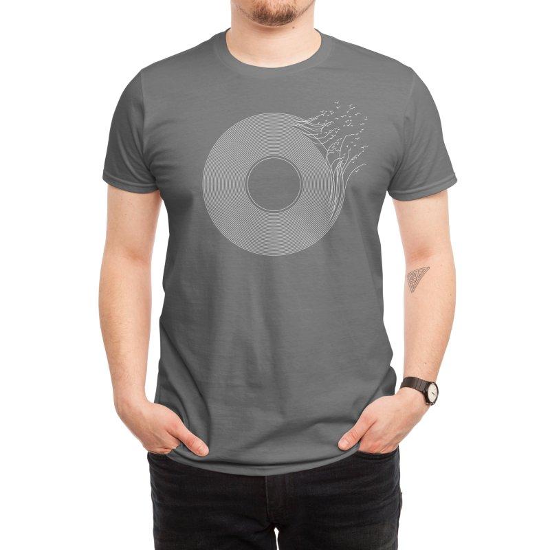 Breaking Record Men's T-Shirt by Threadless Artist Shop