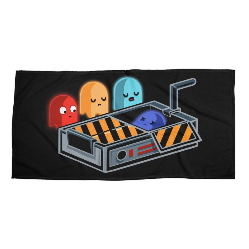 Ghost Busted Accessories Beach Towel by Threadless Artist Shop