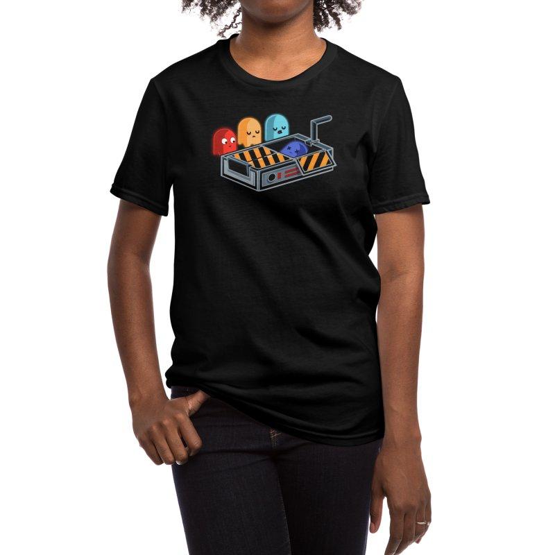 Ghost Busted Women's T-Shirt by Threadless Artist Shop