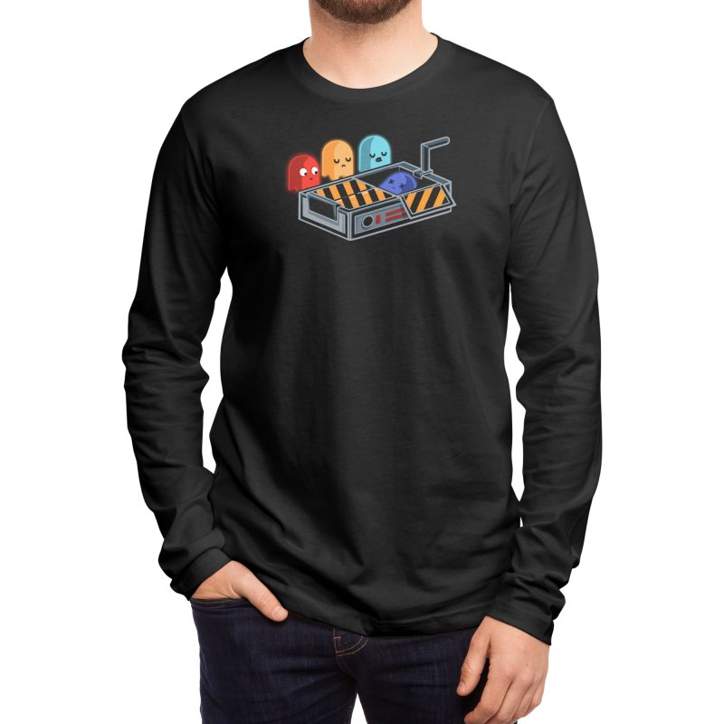 Ghost Busted Men's Longsleeve T-Shirt by Threadless Artist Shop
