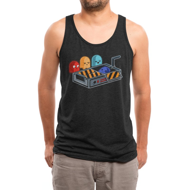 Ghost Busted Men's Tank by Threadless Artist Shop