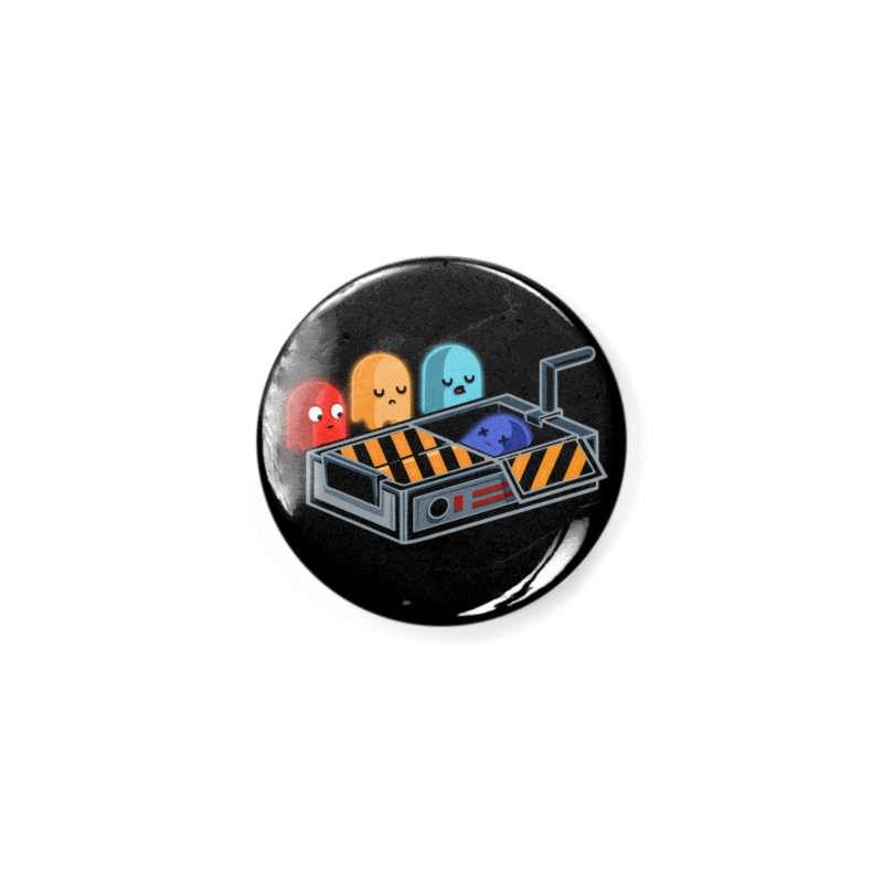 Ghost Busted Accessories Button by Threadless Artist Shop