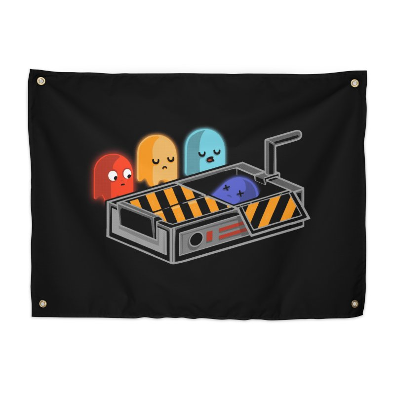 Ghost Busted Home Tapestry by Threadless Artist Shop