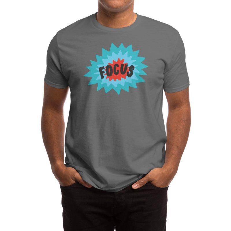 Focus Men's T-Shirt by Threadless Artist Shop