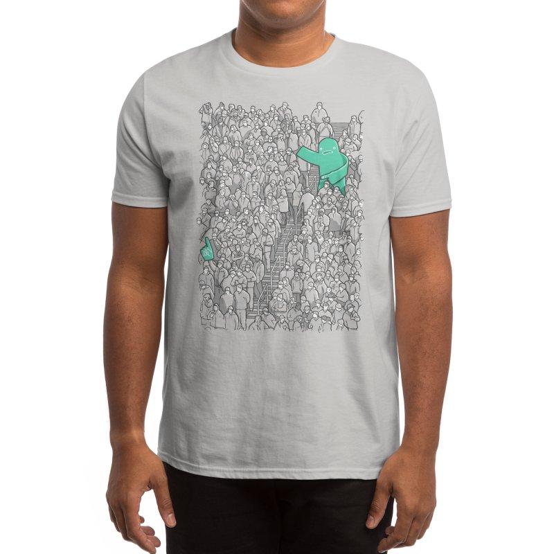 Foam Monster In Emotional Reunion With Severed Limb Men's T-Shirt by Threadless Artist Shop