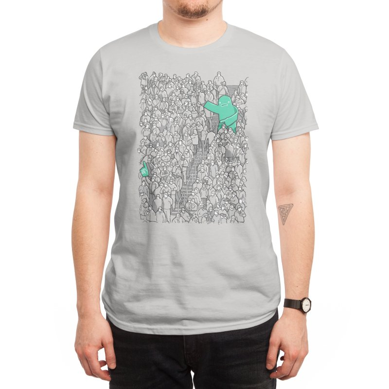 Foam Monster In Emotional Reunion With Severed Limb Men's T-Shirt by Threadless Artist Shop
