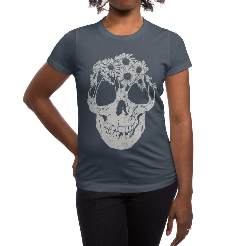 Pushing Daisies Women's T-Shirt by Threadless Artist Shop