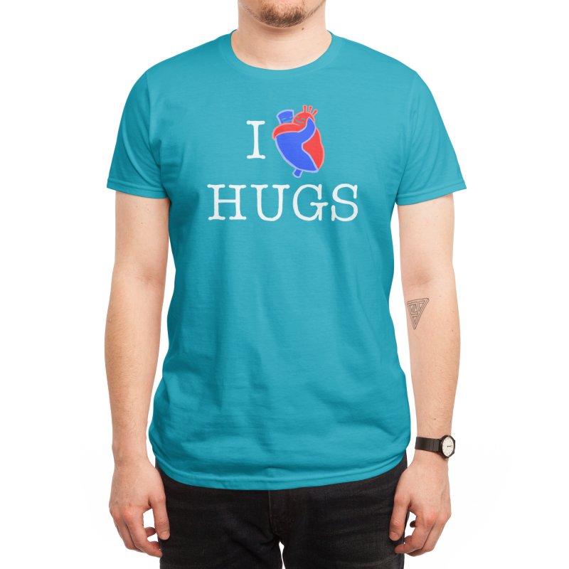 I Love Hugs Men's T-Shirt by Threadless Artist Shop