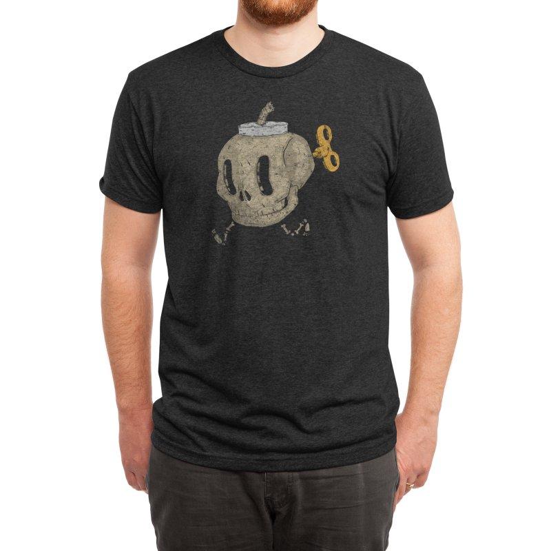 Skull Bomb Men's T-Shirt by Threadless Artist Shop