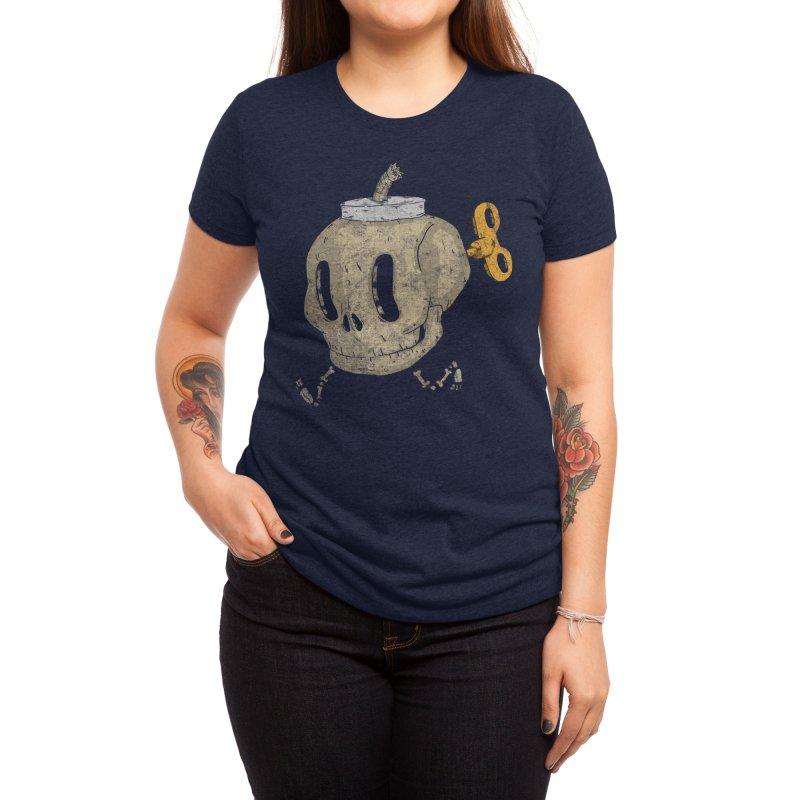 Skull Bomb Women's T-Shirt by Threadless Artist Shop