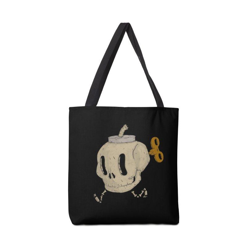 Skull Bomb Accessories Bag by Threadless Artist Shop
