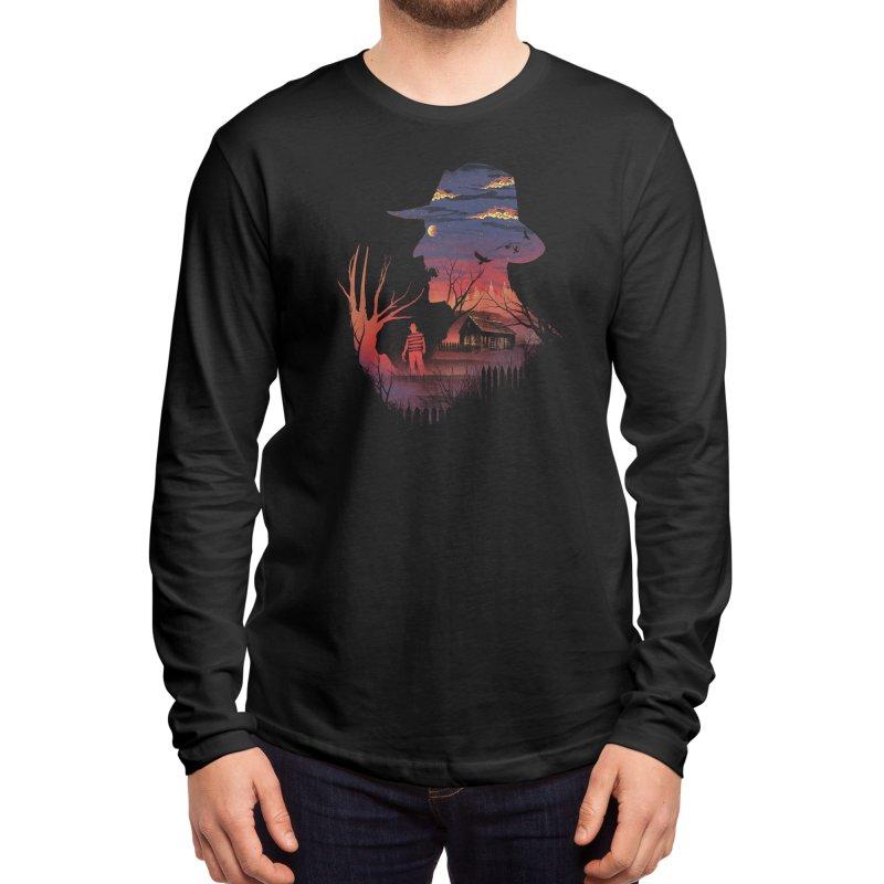 Nightmare on the Street Men's Longsleeve T-Shirt by Threadless Artist Shop