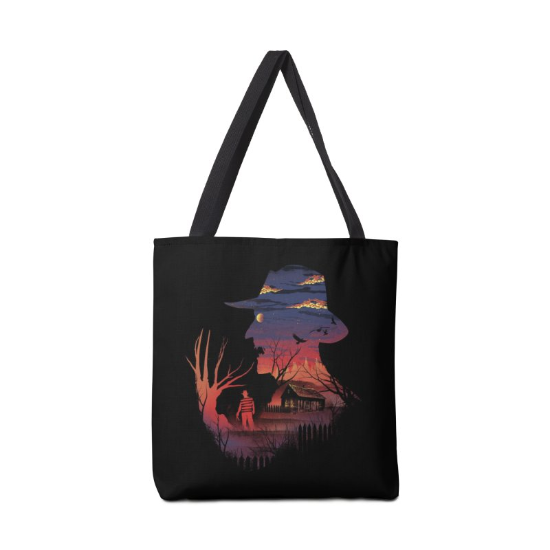 Nightmare on the Street Accessories Bag by Threadless Artist Shop