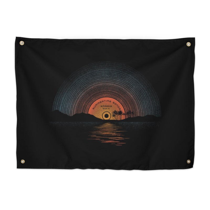 Sound Of Summer Home Tapestry by Threadless Artist Shop