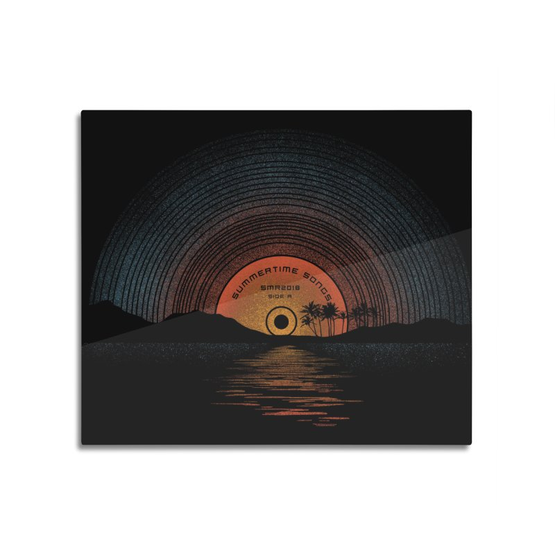 Sound Of Summer Home Mounted Acrylic Print by Threadless Artist Shop