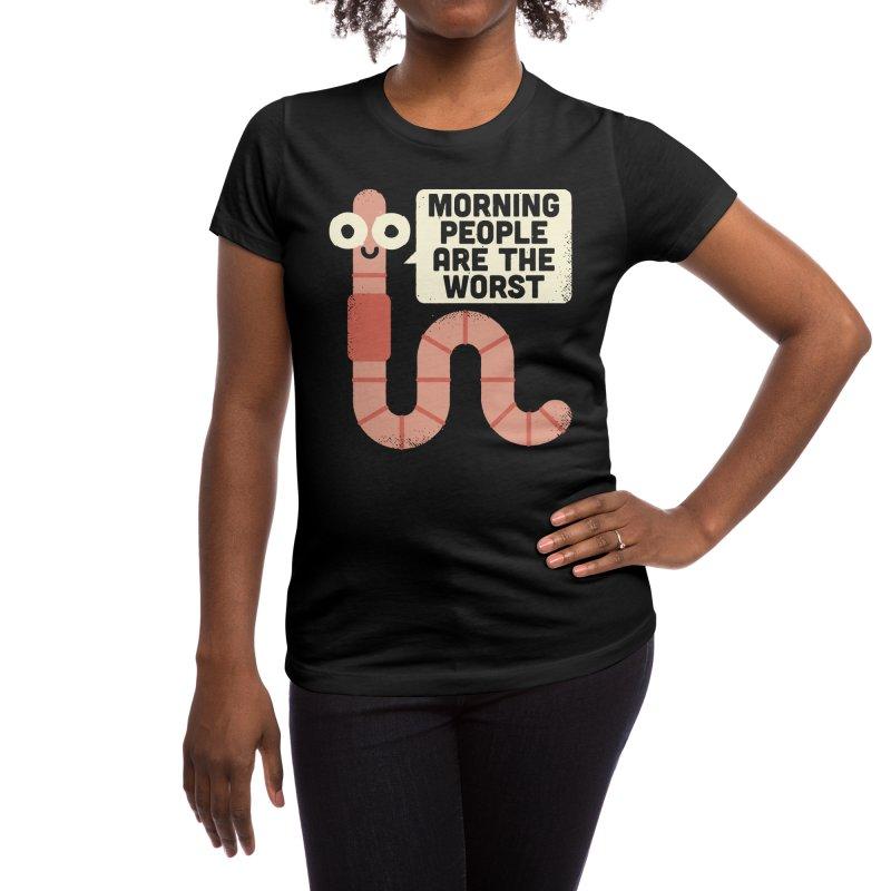 For the Birds - David Olenick Women's T-Shirt by Threadless Artist Shop