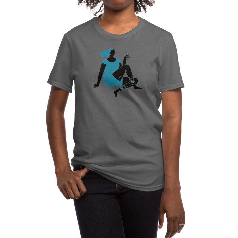 Enjoy Women's T-Shirt by Threadless Artist Shop
