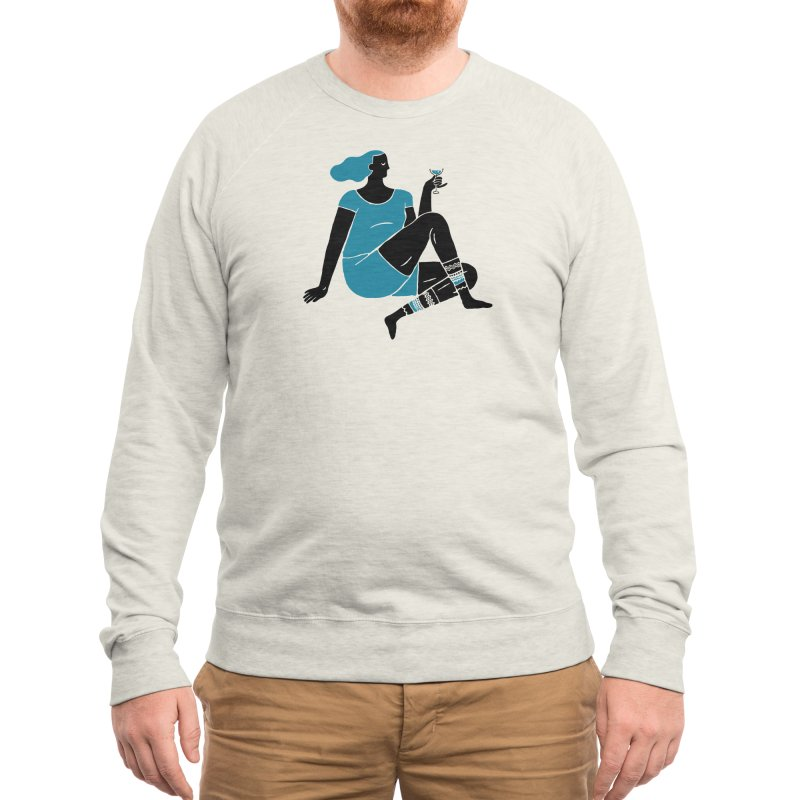 Enjoy Men's Sweatshirt by Threadless Artist Shop