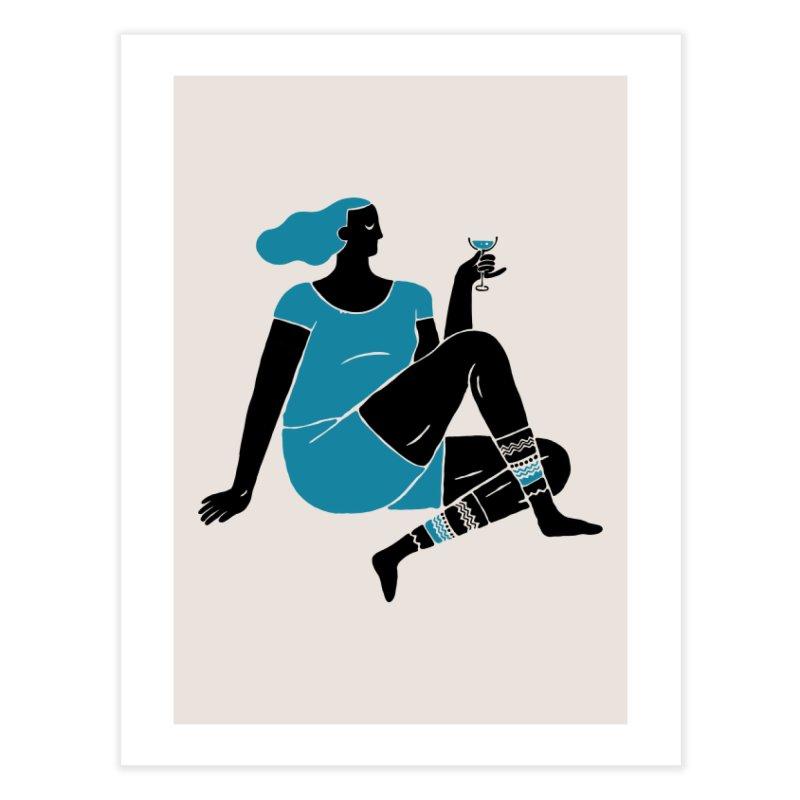 Enjoy Home Fine Art Print by Threadless Artist Shop