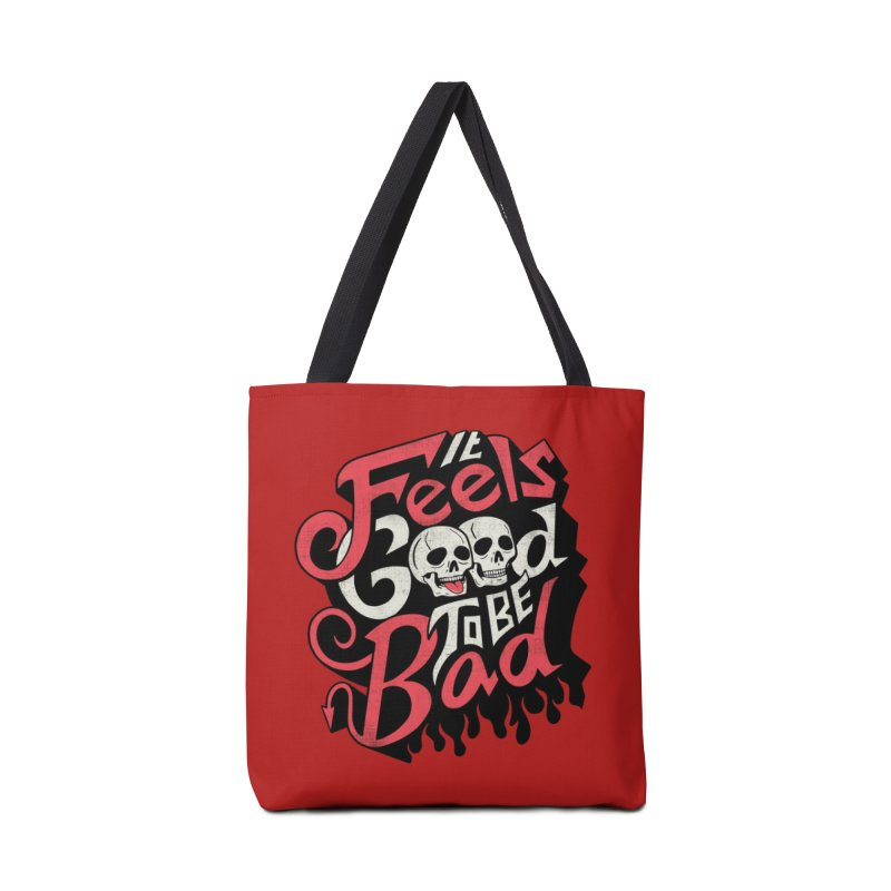 Good to be Bad Accessories Bag by Threadless Artist Shop