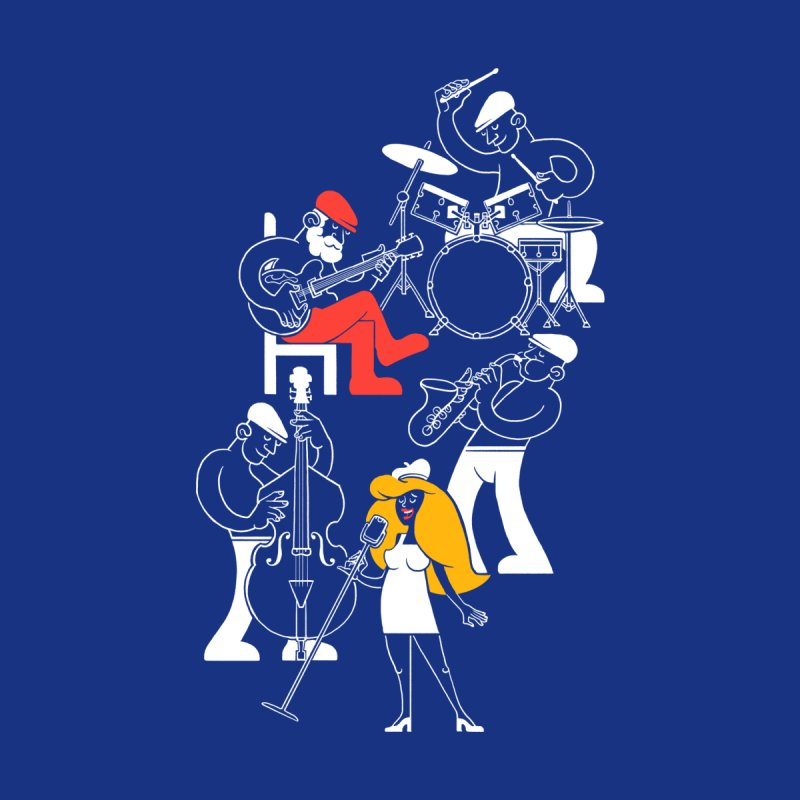 Classic Blues Women's T-Shirt by Threadless Artist Shop