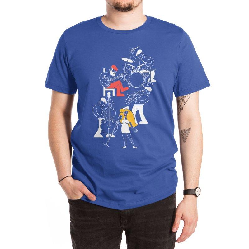 Classic Blues Men's T-Shirt by Threadless Artist Shop