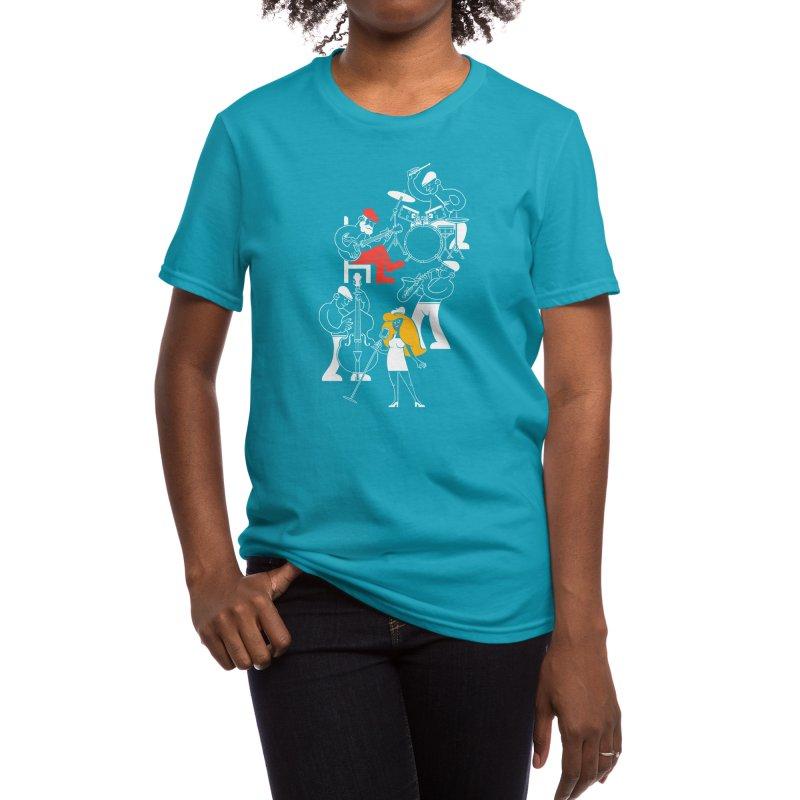 Classic Blues Women's T-Shirt by Threadless Artist Shop