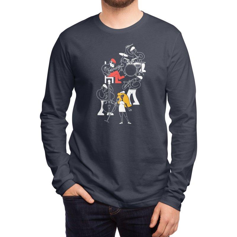 Classic Blues Men's Longsleeve T-Shirt by Threadless Artist Shop
