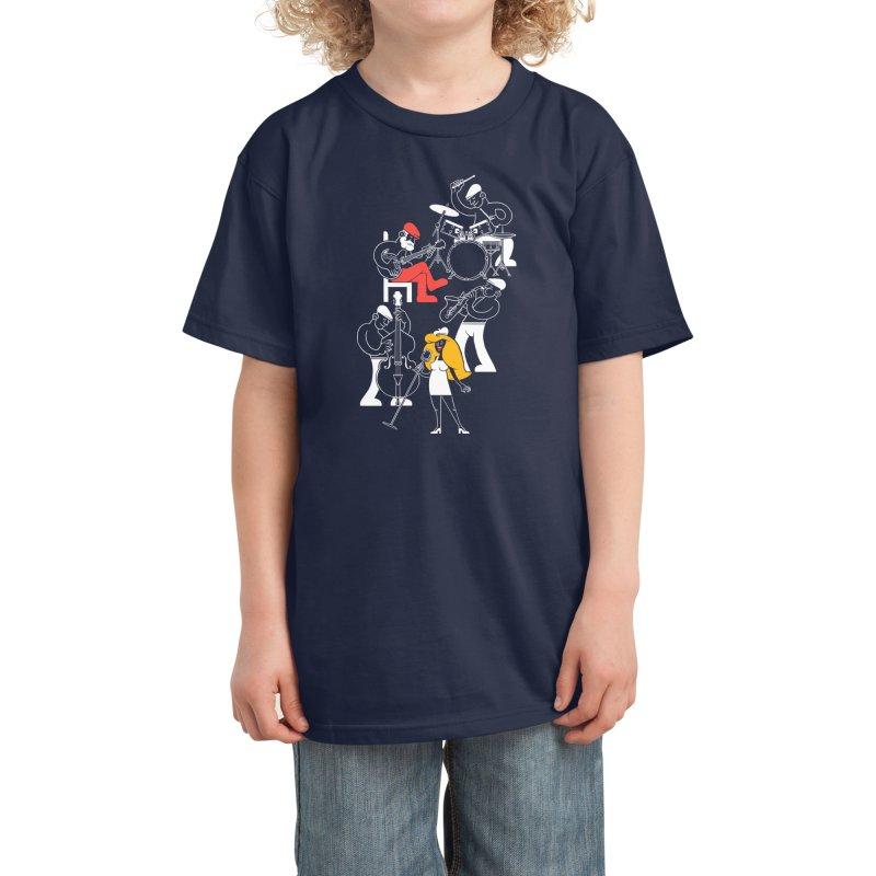 Classic Blues Kids T-Shirt by Threadless Artist Shop