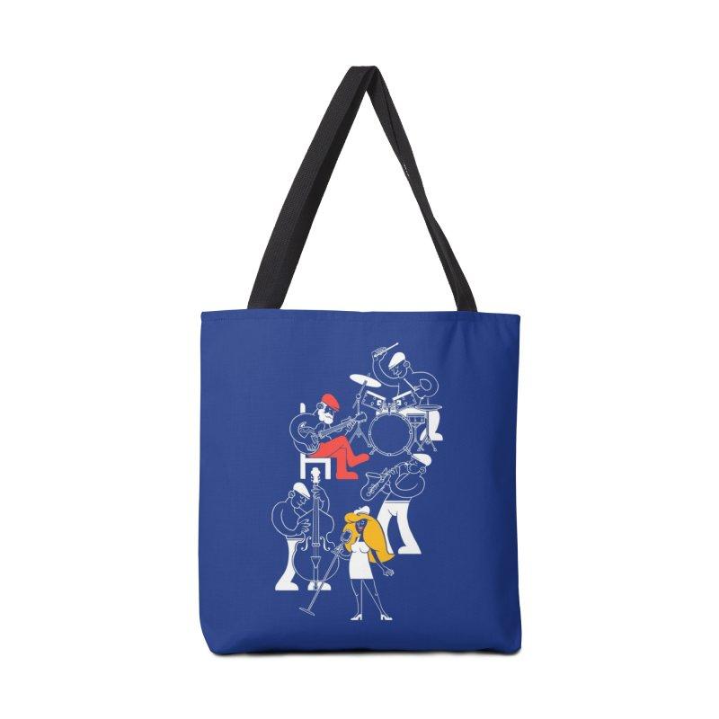 Classic Blues Accessories Bag by Threadless Artist Shop