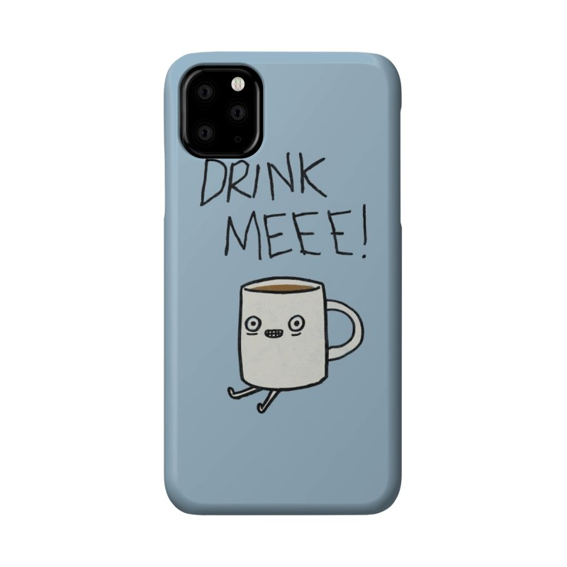 Drink Me Coffee Accessories Phone Case by Threadless Artist Shop