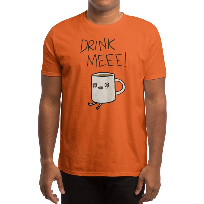 Drink Me Coffee Men's T-Shirt by Threadless Artist Shop