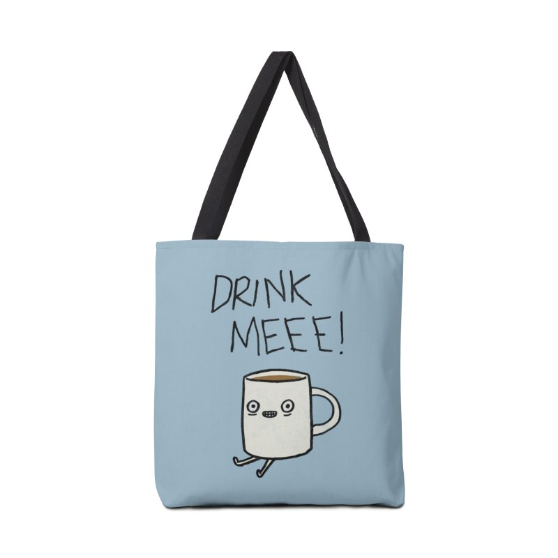 Drink Me Coffee Accessories Bag by Threadless Artist Shop