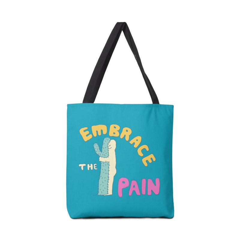 Embrace The Pain Accessories Bag by Threadless Artist Shop