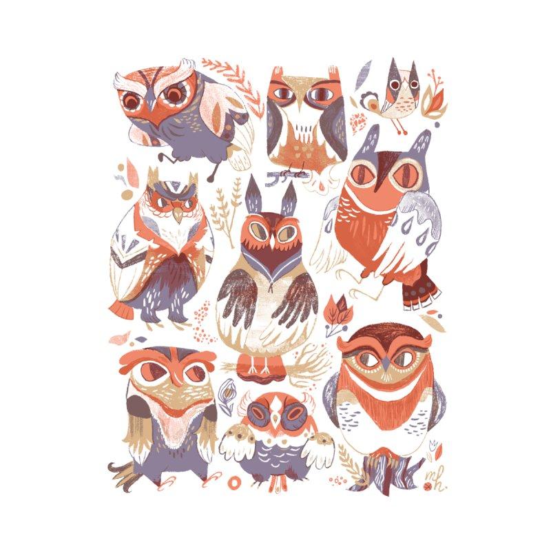 Owl Party Men's T-Shirt by Threadless Artist Shop