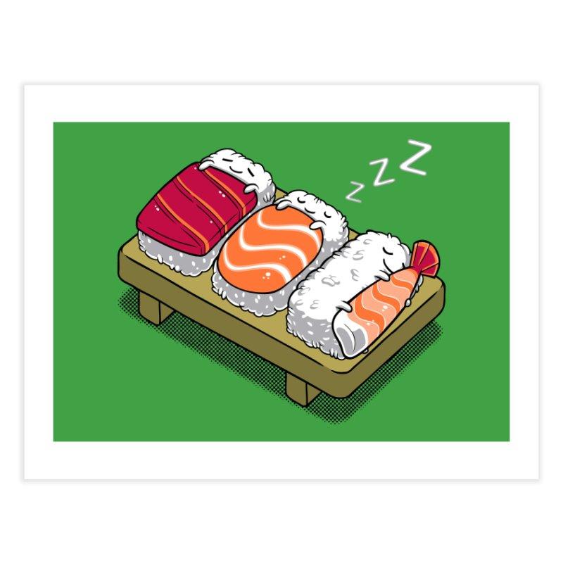 Sushi Home Fine Art Print by Threadless Artist Shop