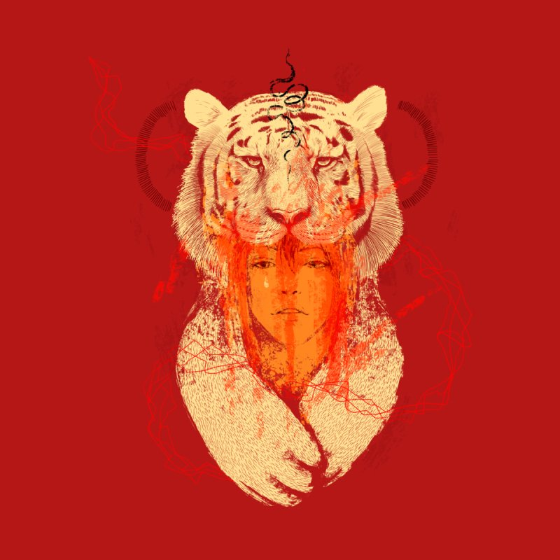 Tigress Men's T-Shirt by Threadless Artist Shop