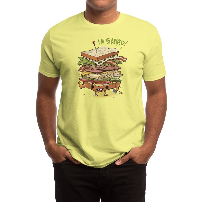 Totally Stacked Men's T-Shirt by Threadless Artist Shop